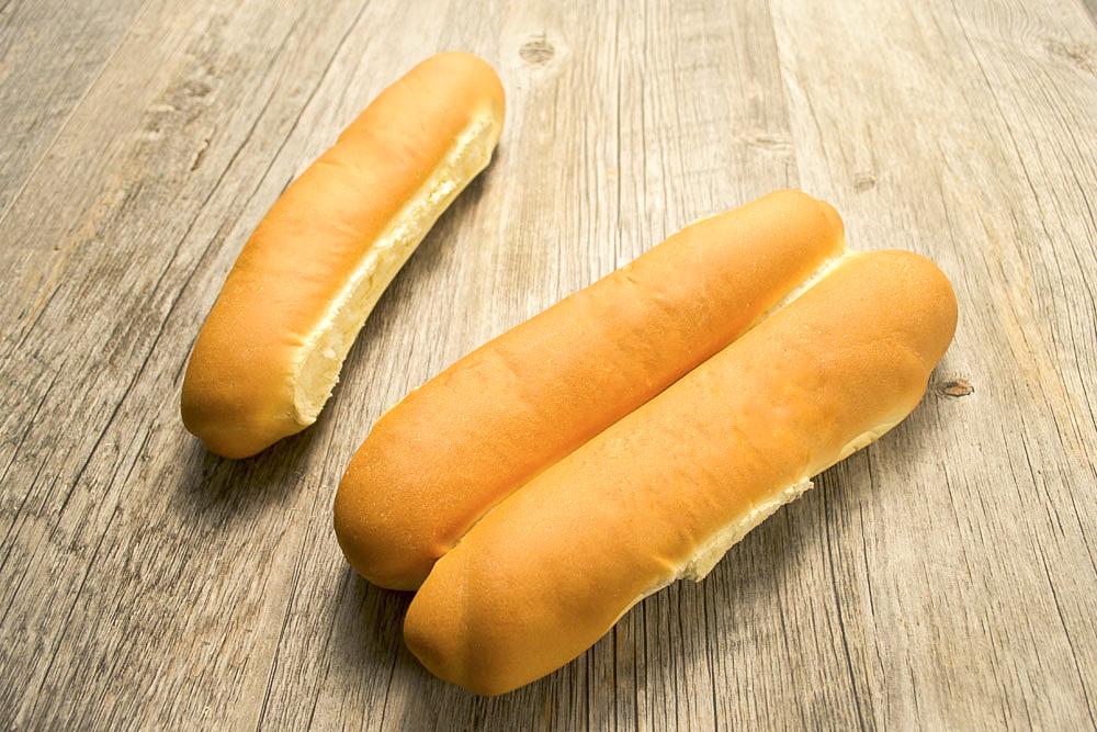 Finger Bun Hot Dog