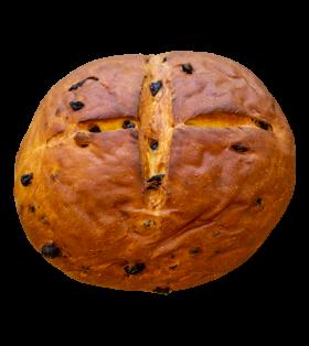 Pashka Bread With Raisins